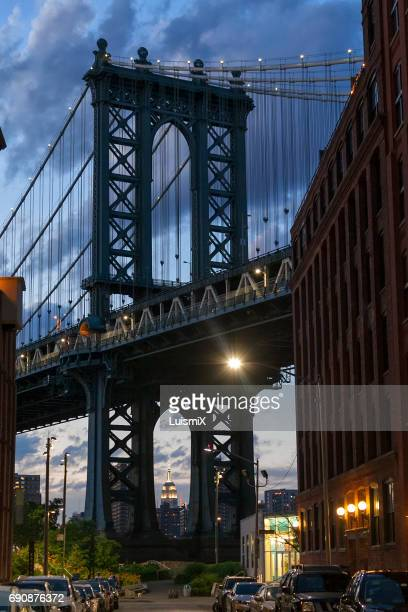 new york - dumbo stock photos and pictures