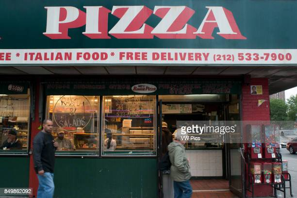 USA New York Pizza Restaurant Manhattan New York City NYC