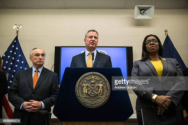 New York Police Department Commisioner Bill Bratton and New York City Mayor Bill de Blasio speak about body cameras that the NYPD will begin using...