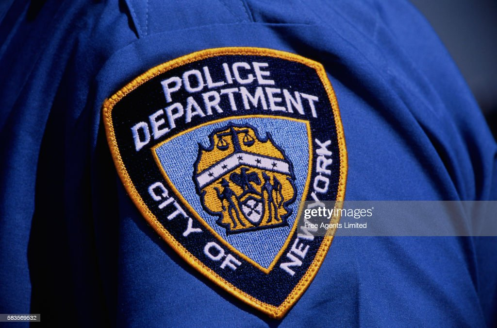 New York Police Department Emblem : Stock Photo