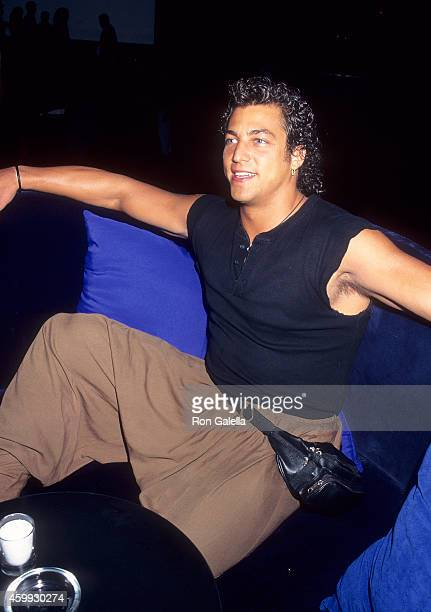 New York Police Officer Edward Mallia Promotes his 11Page Centerfold Spread for the May 1995 Issue Playgirl Magazine on March 31 1995 at Club Expo in...