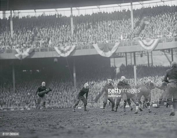 Polo Grounds New York Giants vs Chicago Bears football