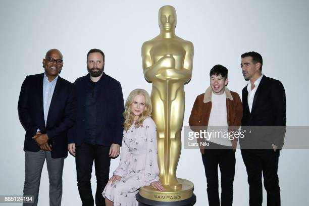 AMPAS New York programs and membership director Patrick Harrison writer director and producer Yorgos Lanthimos actress Nicole Kidman actor Barry...
