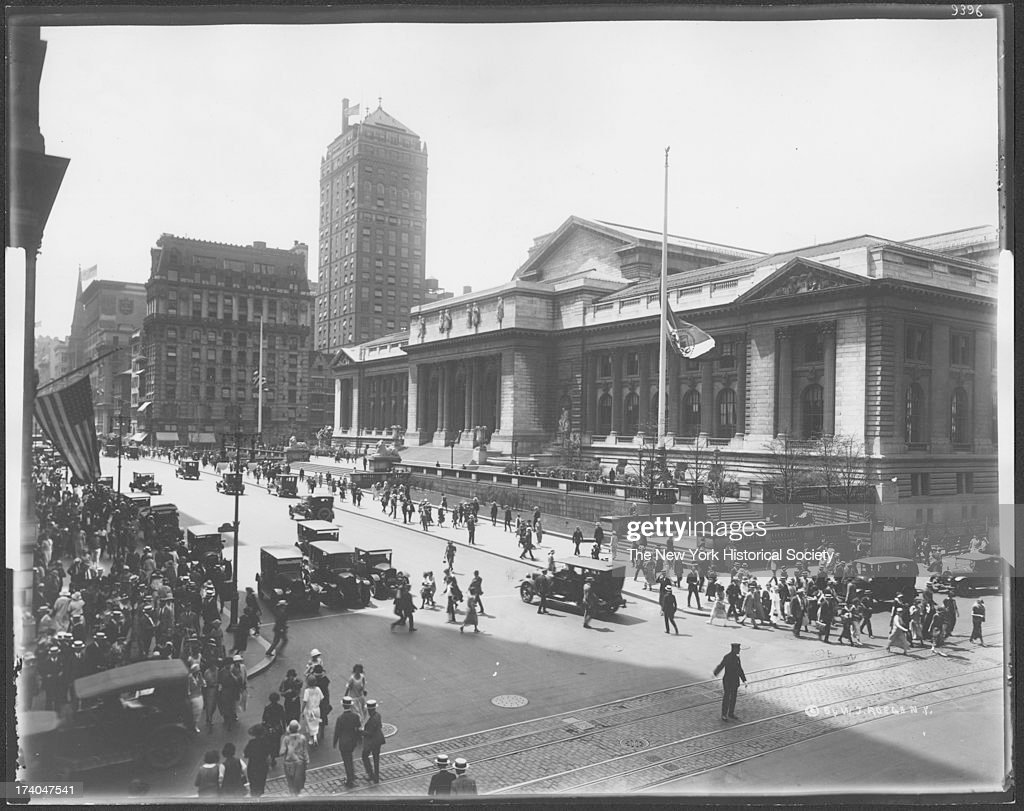 New York Public Library : News Photo