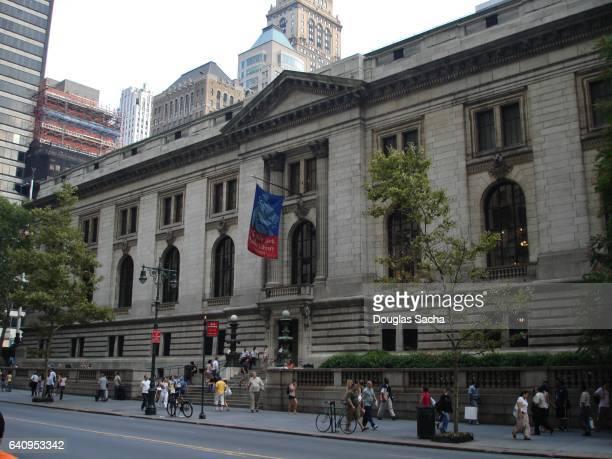 New York Public Library Main Branch, New York, NY, USA
