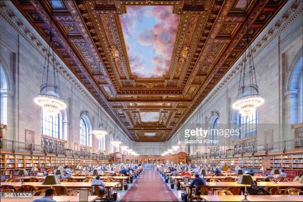 New York Public Library Rose reading room