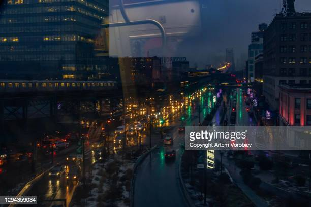 new york, queensboro plaza - queens new york city stock pictures, royalty-free photos & images