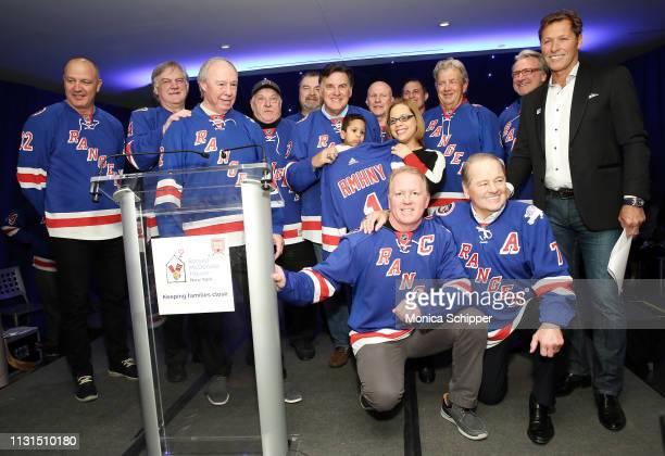 New York Rangers Alumni Stephane Matteau Ron Greschner Nick Fotiu Pete Stemkowski Chris Kotsopoulos Ed Hospodar Brian Mullen Mike Hartman Steve...