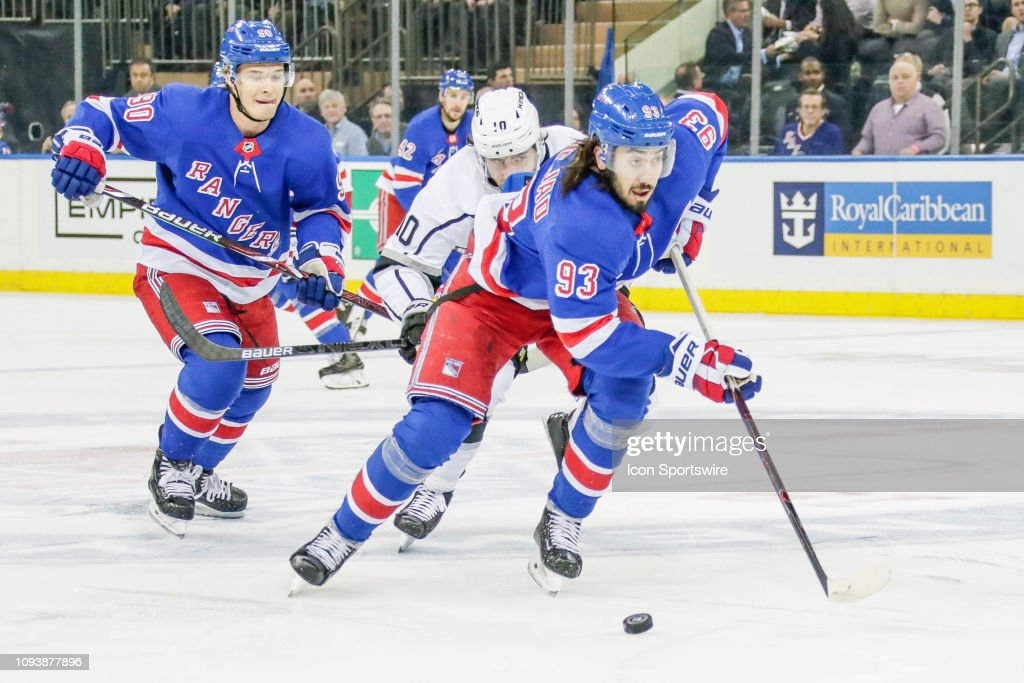 NHL: FEB 04 Kings at Rangers : News Photo
