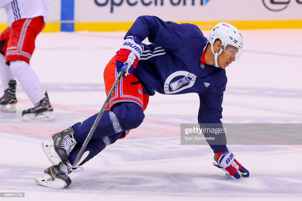 NHL: JUN 29 Rangers Prospect Development Camp : News Photo