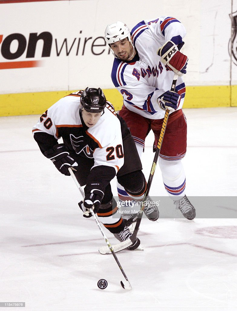 New York Rangers vs Philadelphia Flyers - March 2, 2006