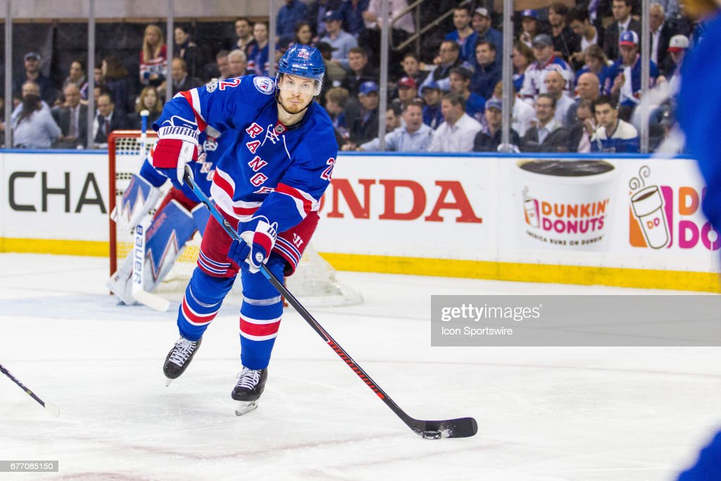 Nhl may 02 2nd round game 3 senators at rangers pictures new york rangers defenseman nick holden 22 in action during the second period of publicscrutiny Image collections