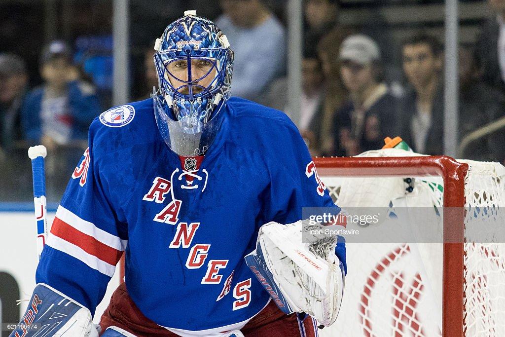 NHL: NOV 03 Oilers at Rangers : News Photo