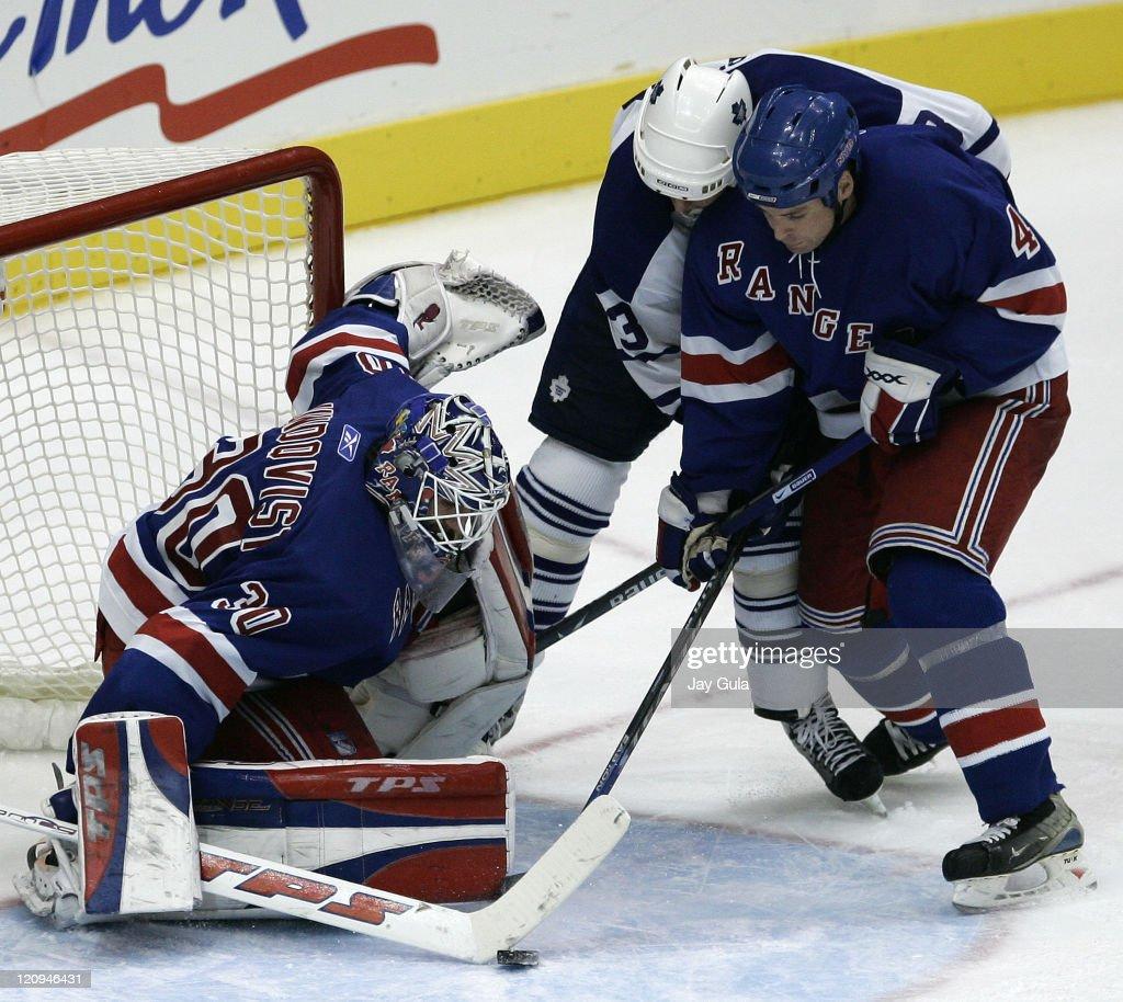 New York Rangers vs Toronto Maple Leafs - October 21, 2006