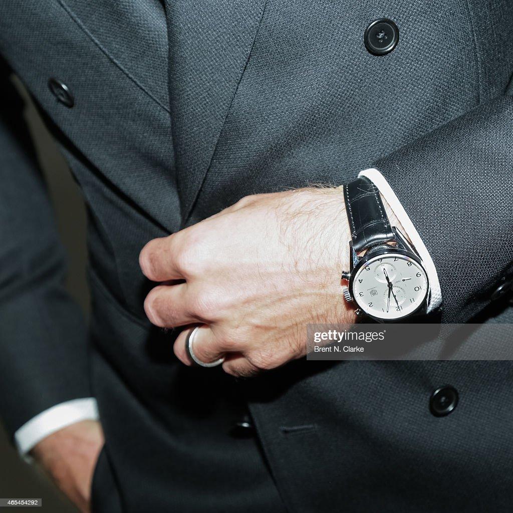New York Rangers Goaltender Henrik Lundqvist Watch Detail Attends