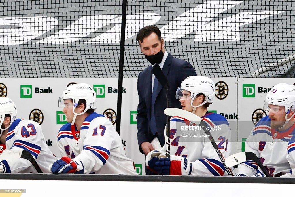 NHL: MAR 11 Rangers at Bruins : News Photo