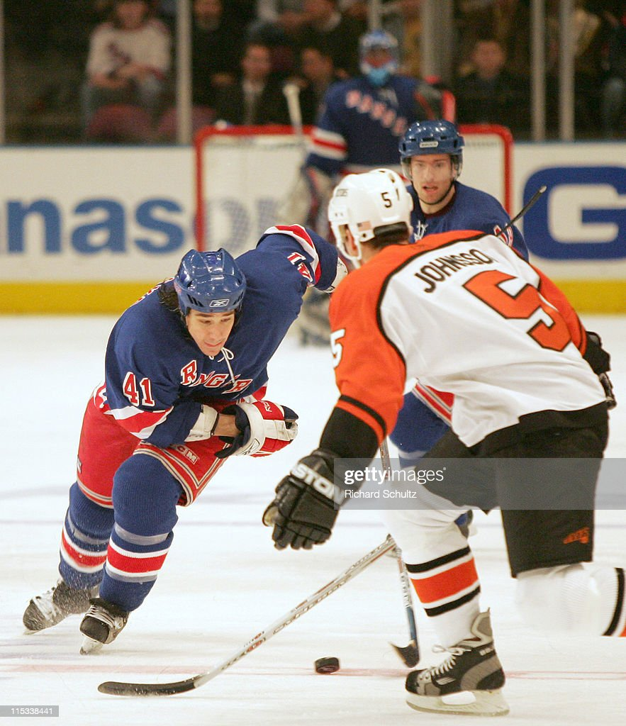 Philadelphia Flyers vs New York Rangers - January 5, 2006