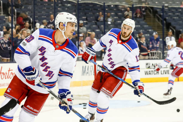 03184c9e3 Kreider   Hayes are playing well this season. Photo Credit  Getty Images