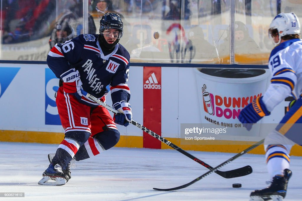 finest selection 613fe 74d33 New York Rangers right wing Mats Zuccarello skates during ...