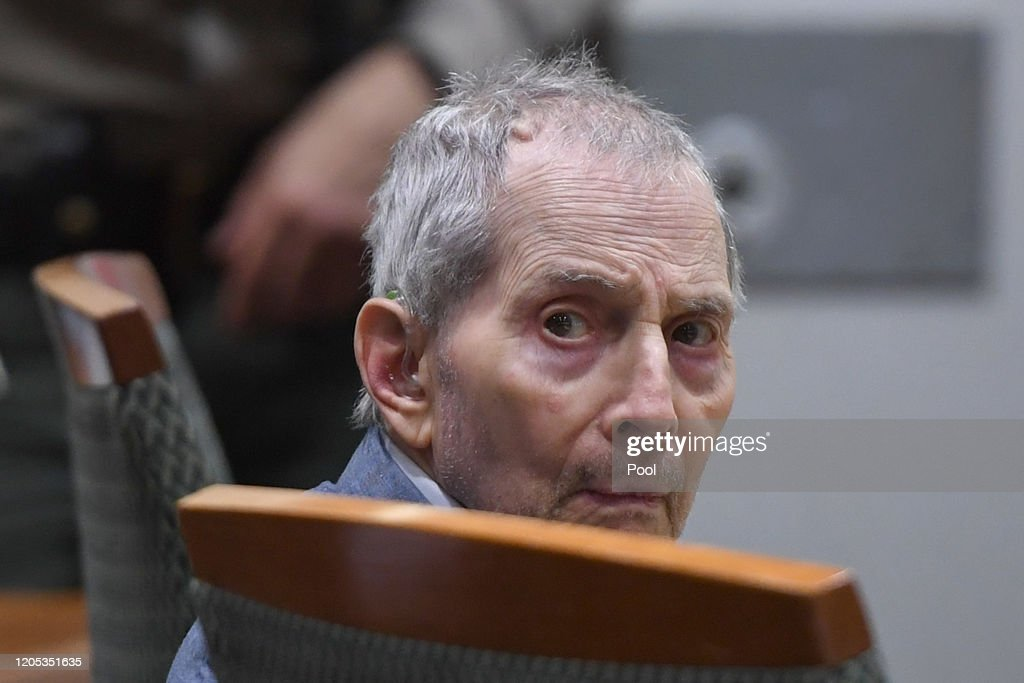Robert Durst Murder Trial Begins In Los Angeles : News Photo