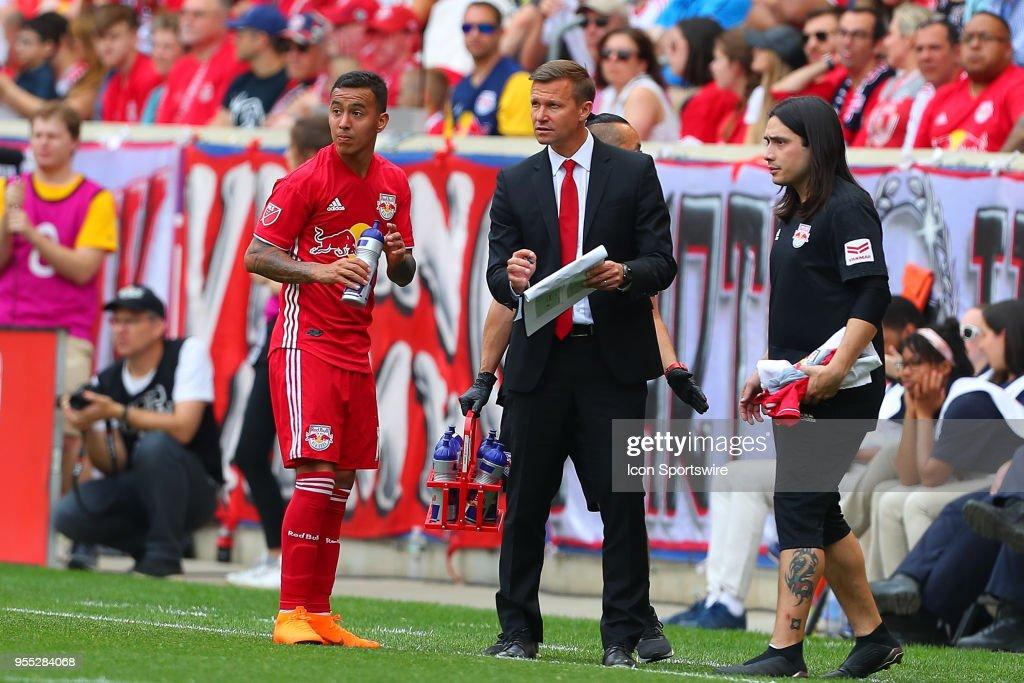 SOCCER: MAY 05 MLS - New York City FC at NY Red Bulls : News Photo