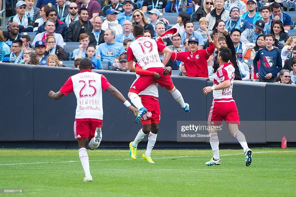 New York Red Bulls v New York City FC : News Photo