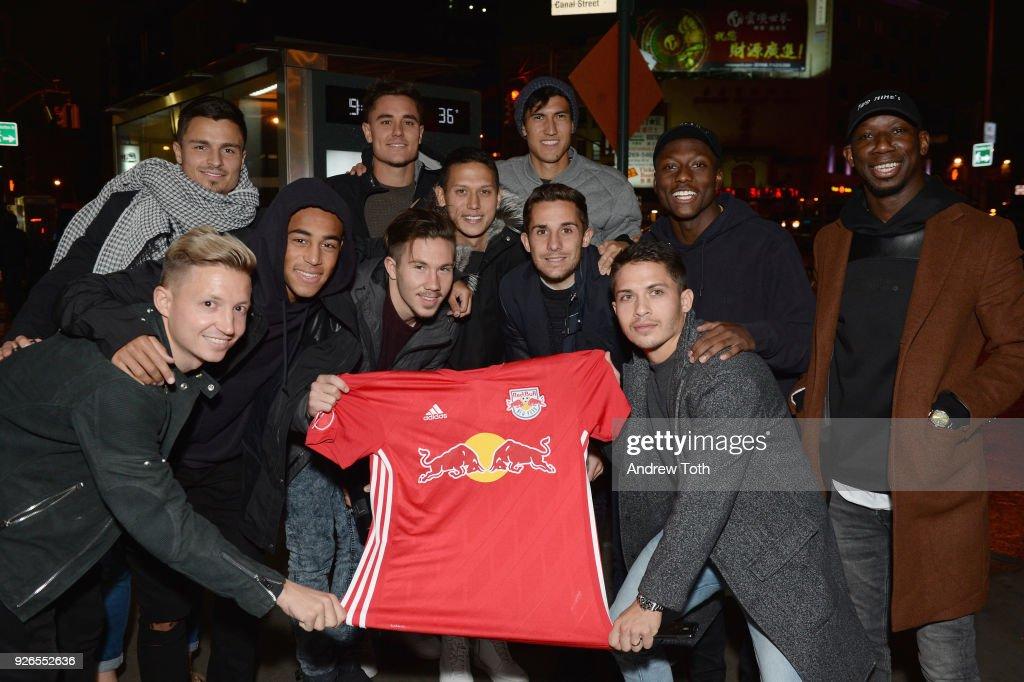 New York Red Bulls - 2018 Jersey Launch : News Photo