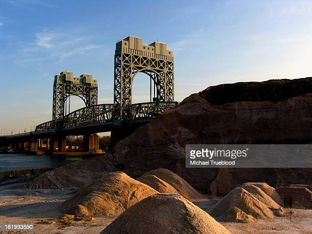 new york - rfk bridge - east harlem - fotografias e filmes do acervo
