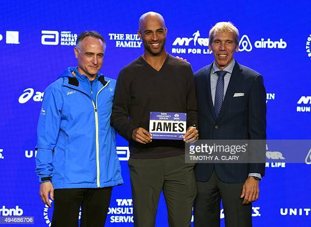 New York Road Runners President and CEO Michael Capiraso and NYRR President of Events and Race Director of the TCS New York City Marathon Peter...
