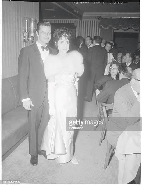 Robert Goulet and Carol Lawrence at El Morocco Nightclub