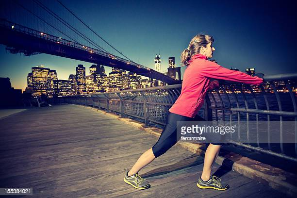 new york runner - gastrocnemius stock pictures, royalty-free photos & images