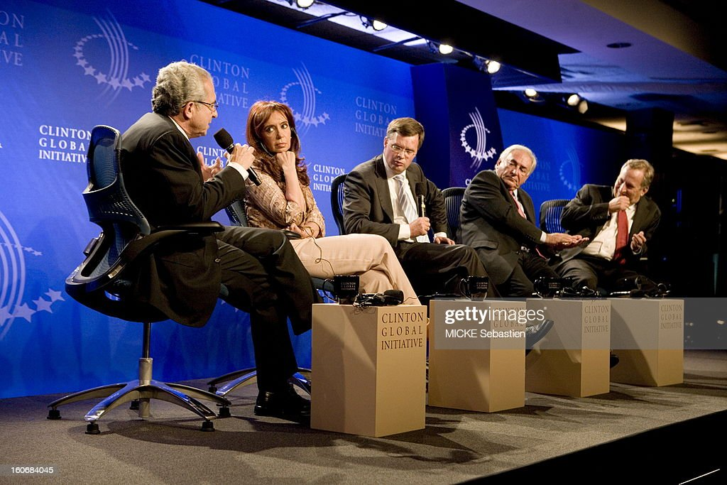 Annual Meeting Of The Clinton Global Initiative In New York : News Photo