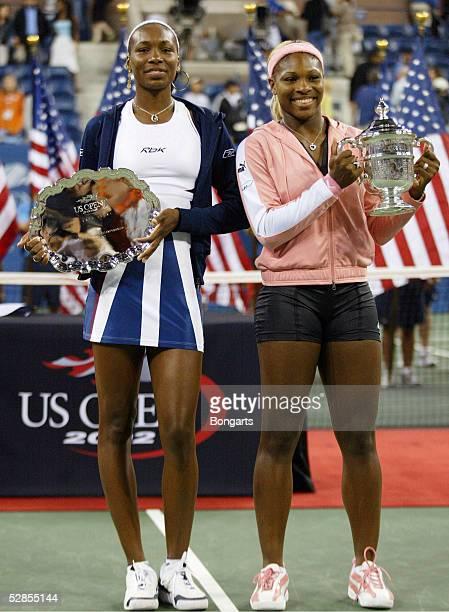 New York; SIEGEREHRUNG: Venus und Siegerin Serena WILLIAMS/USA