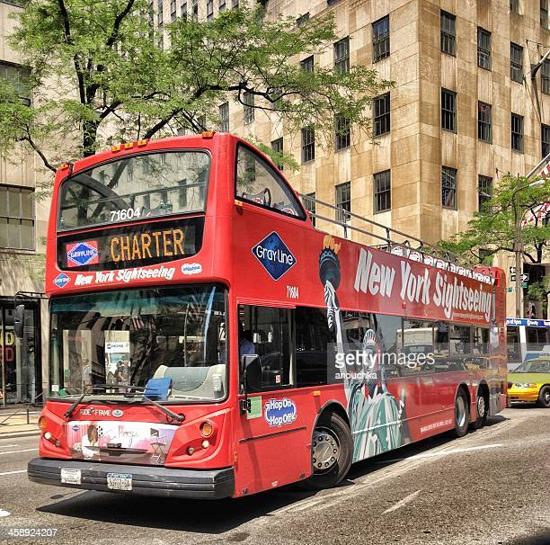 New York Sightseeing Bus on Fifth Avenue
