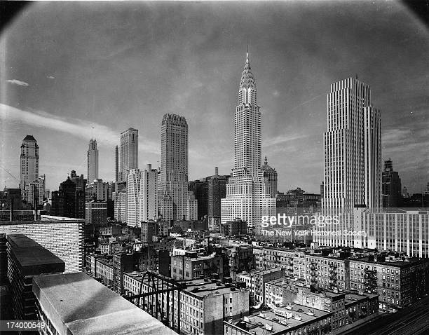 1920 New York City (Lower Manhattan), Iconic Skyline ... |Museum New York Skyline 1920