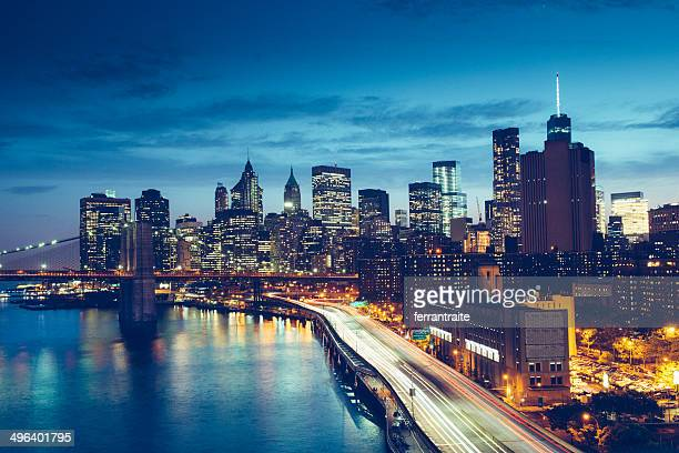 New York Skyline from FDR Drive