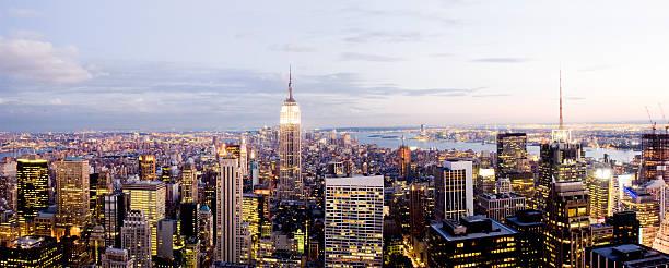 New York Skyline Panorama Wall Art