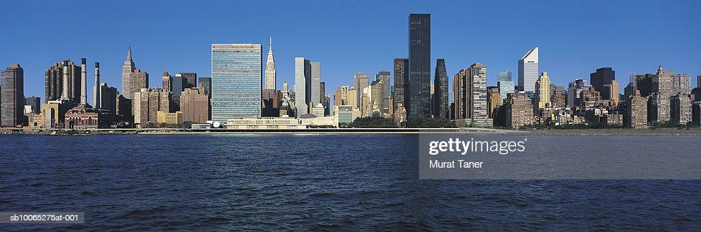 New York skyline : Foto stock