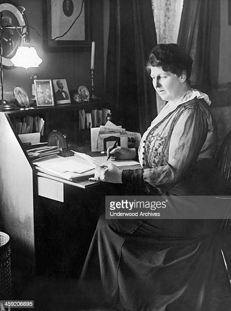 A New York society woman does charity work for the Militia of Mercy during WWI New York New York July 10 1917