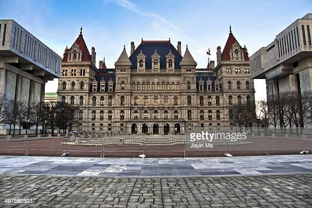 new york state capitol - ニューヨーク州庁舎 ストックフォトと画像