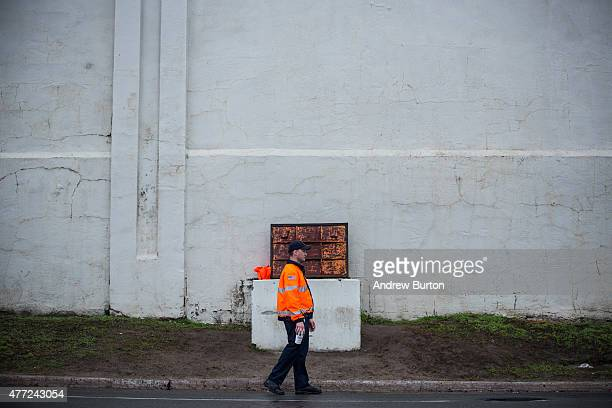 New York State Corrections officers stand guard outside Clinton Correctional Facility where two convicted murderers escaped from the prison on June...