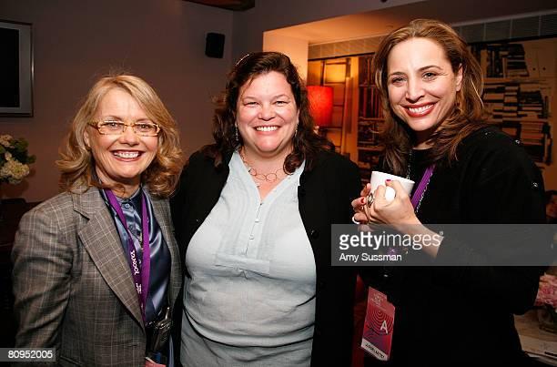New York State Film Commissioner Pat Kaufman Tribeca Film Festival CoDirector Paola Freccero and Juror Ester Robinson attend the Women's Filmmaker...