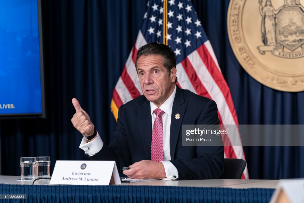 New York State Governor Andrew Cuomo holds daily media... : News Photo