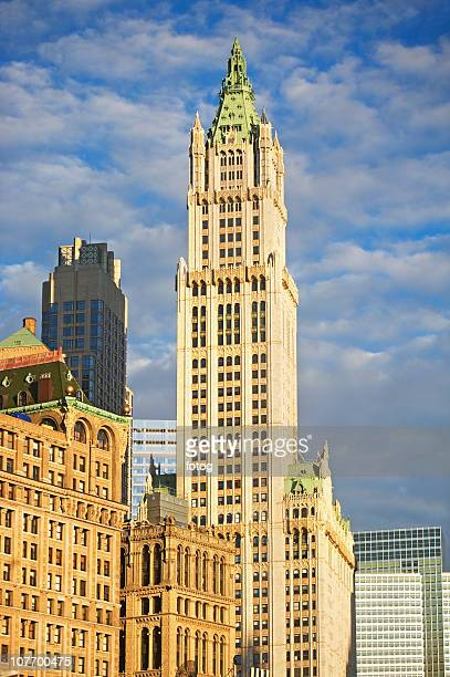 USA, New York State, New York City, Broadway, Woolworth Building