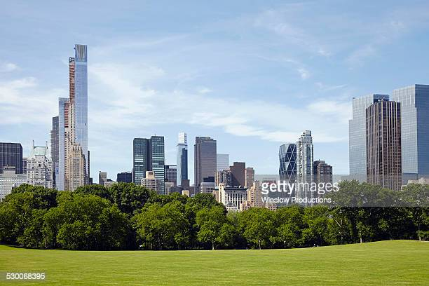 USA, New York State, New York City, City skyline