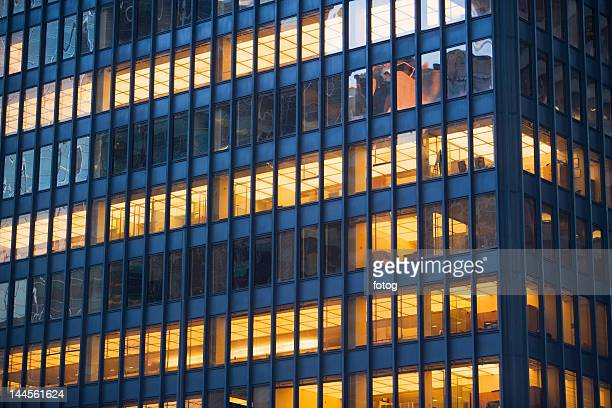 USA, New York state, New York city, close-up of office building