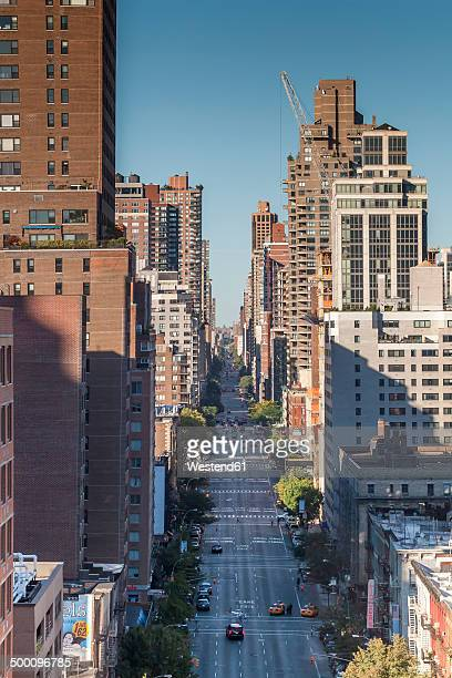 USA, New York State, New York City, First Avenue