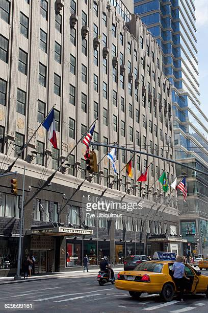 USA New York State New York City Manhattan Lexington Avenue Exterior of Bloomingdales department store