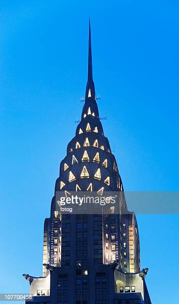 USA, New York State, New York City, Manhattan, Tower and spire of Chrysler Building