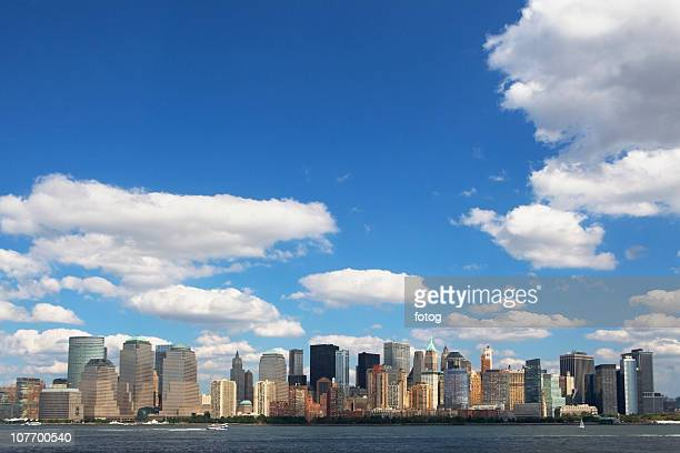 usa, new york state, new york city, skyline of lower manhattan - state stock pictures, royalty-free photos & images